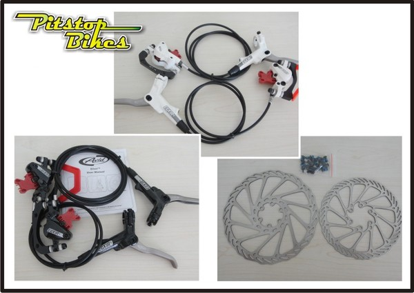 Brakeset avid elixir 5 rotor pitstop bikes