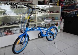 SEPEDA LIPAT EXOTIC BIRU . pitstopbikes