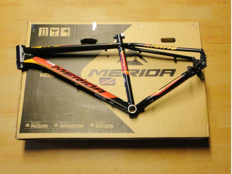FRAME 26″ MERIDA MATTS 300 RED/ORANGE | .:: pitstop-bikes ::.