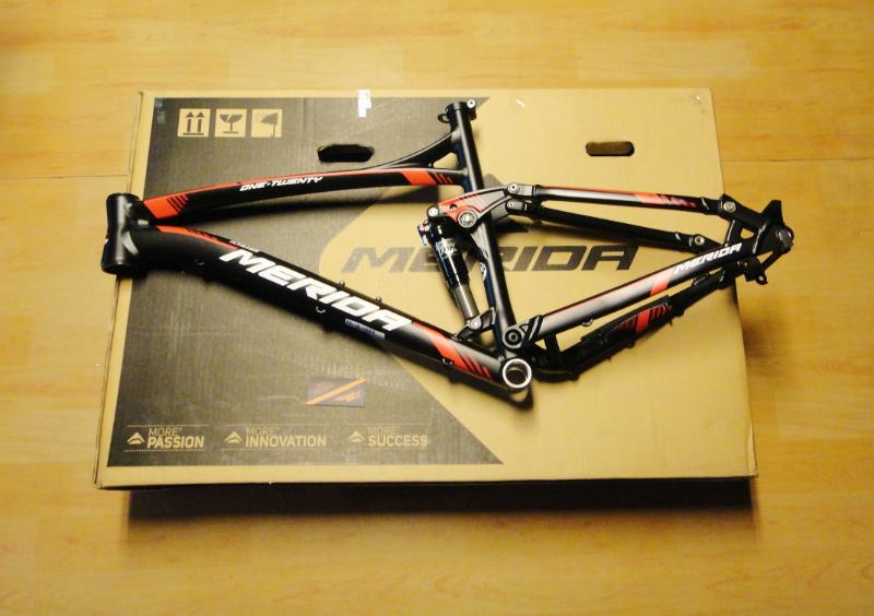 FRAME MERIDA ONE TWENTY 1000 BLACK/RED 26 inch | .:: pitstop-bikes ::.