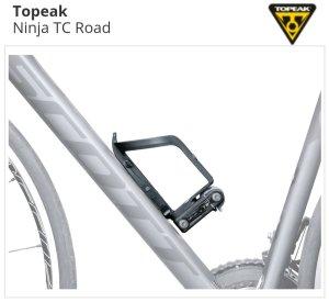 TOPEAK NINJA TC ROAD BOTTLE CAGE & MULTI-TOOL |  :: pitstop